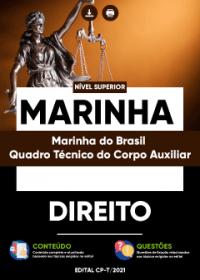 Direito - Marinha do Brasil-Quadro Técnico do Corpo Auxiliar