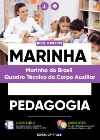 Pedagogia - Marinha do Brasil-Quadro Técnico do Corpo Auxiliar