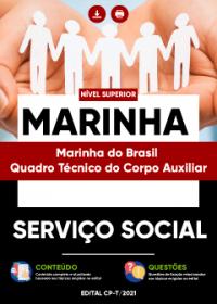 Serviço Social - Marinha do Brasil-Quadro Técnico do Corpo Auxiliar