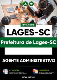 Agente Administrativo - Prefeitura de Lages-SC