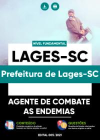 Agente de Combate às Endemias - Prefeitura de Lages-SC