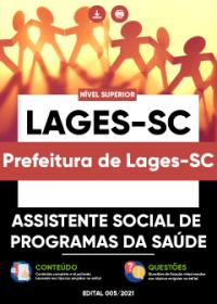 Assistente Social de Programas da Saúde - Prefeitura de Lages-SC
