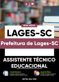 Assistente Técnico Educacional - Prefeitura de Lages-SC