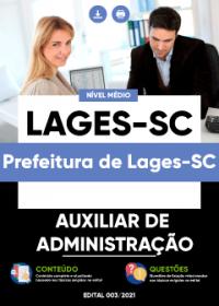 Auxiliar de Administração - Prefeitura de Lages-SC