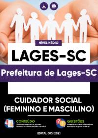 Cuidador Social - Prefeitura de Lages-SC