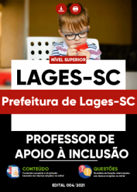 Professor de Apoio à Inclusão - Prefeitura de Lages-SC