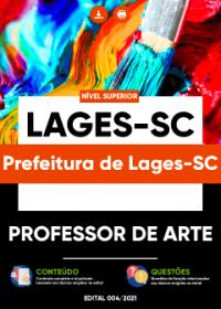 Professor de Arte - Prefeitura de Lages-SC