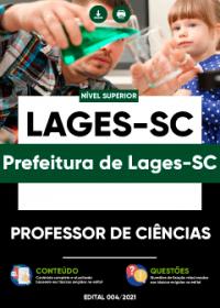 Professor de Ciências - Prefeitura de Lages-SC