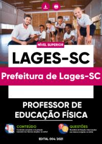 Professor de Educação Física - Prefeitura de Lages-SC