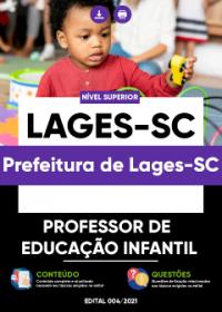 Professor de Educação Infantil - Prefeitura de Lages-SC