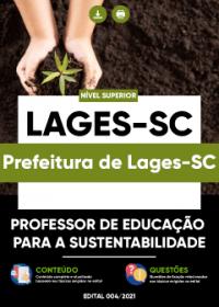 Professor de Educação para a Sustentabilidade - Prefeitura de Lages-SC