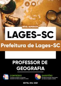Professor de Geografia - Prefeitura de Lages-SC