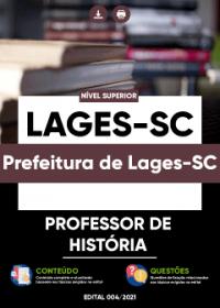 Professor de História - Prefeitura de Lages-SC