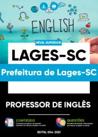 Professor de Inglês - Prefeitura de Lages-SC