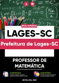 Professor de Matemática - Prefeitura de Lages-SC