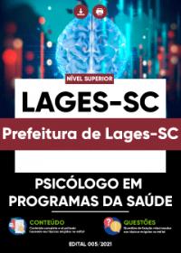 Psicólogo em Programas da Saúde - Prefeitura de Lages-SC