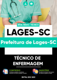 Técnico de Enfermagem - Prefeitura de Lages-SC