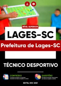 Técnico Desportivo - Prefeitura de Lages-SC