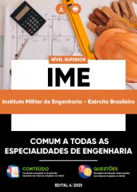 Comum a todas as Especialidades de Engenharia - Exército Brasileiro-IME