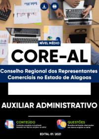 Auxiliar Administrativo - CORE-AL