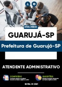 Atendente Administrativo - Prefeitura de Guarujá-SP