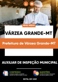 Auxiliar de Inspeção Municipal - Prefeitura de Várzea Grande-MT