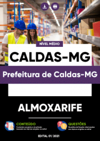 Almoxarife - Prefeitura de Caldas-MG