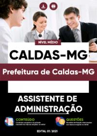 Assistente de Administração - Prefeitura de Caldas-MG