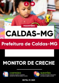 Monitor de Creche - Prefeitura de Caldas-MG