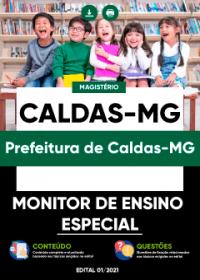 Monitor de Ensino Especial - Prefeitura de Caldas-MG