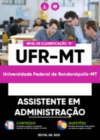 Assistente em Administração - UFR-MT