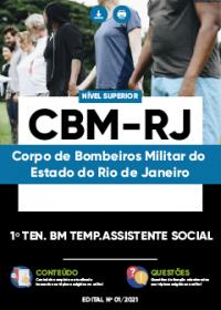 1º Tenente BM Temp. Assistente Social - CBM-RJ
