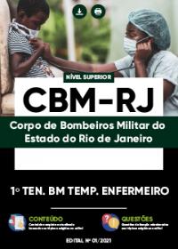 1º Tenente BM Temp. Enfermeiro - CBM-RJ