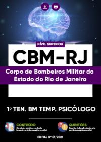 1º Tenente BM Temp. Psicólogo - CBM-RJ