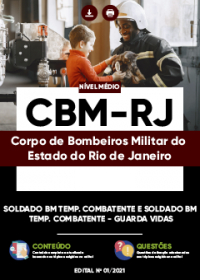 Soldado BM Temp. Combatente - Guarda Vidas - CBM-RJ