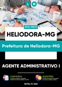 Agente Administrativo I - Prefeitura de Heliodora-MG