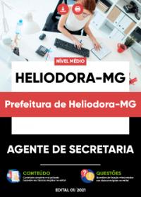 Agente de Secretaria - Prefeitura de Heliodora-MG