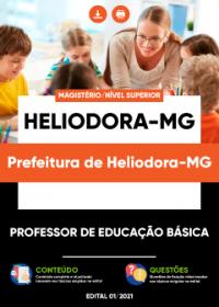 Professor de Educação Básica - Prefeitura de Heliodora-MG
