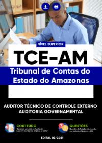 Auditor Técnico de Controle Externo - Auditoria Governamental - TCE-AM