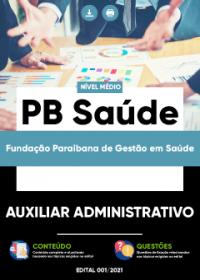 Auxiliar Administrativo - PB Saúde