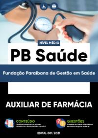 Auxiliar de Farmácia - PB Saúde