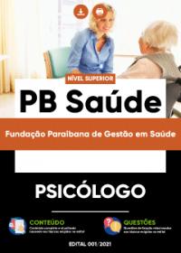 Psicólogo - PB Saúde