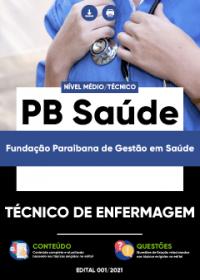 Técnico de Enfermagem - PB Saúde