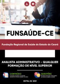 Analista Administrativo - FUNSAÚDE-CE