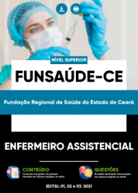 Enfermeiro Assistencial - FUNSAÚDE-CE