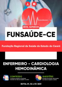 Enfermeiro - Cardiologia-Hemodinâmica - FUNSAÚDE-CE