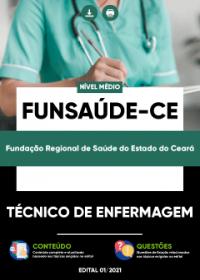 Técnico de Enfermagem - FUNSAÚDE-CE