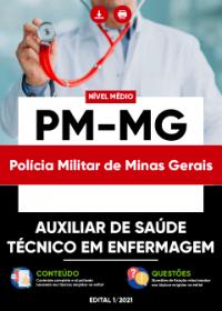 Auxiliar de Saúde - Técnico em Enfermagem - PM-MG