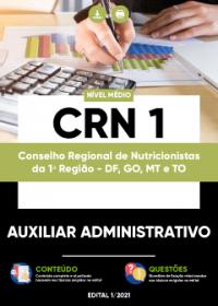 Auxiliar Administrativo - CRN 1