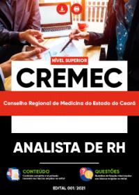 Analista de RH - CREMEC